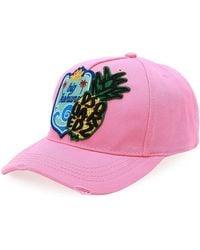 DSquared² - Big Kahuna Cotton Baseball Cap - Lyst