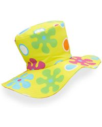 Moschino - Floral Floppy Top Hat - Lyst