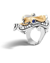 John Hardy - Men's Legends Naga Dragon Ring - Lyst