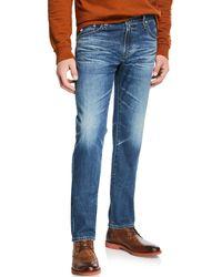 AG Jeans Tellis Modern-slim Jeans - Blue
