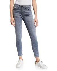 Rag & Bone Cate Mid-rise Ankle Skinny Jeans - Blue