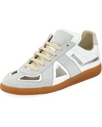 Maison Margiela - Cutout Replica Low-top Sneaker - Lyst