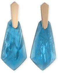 Kendra Scott Darren Drop Earrings - Blue