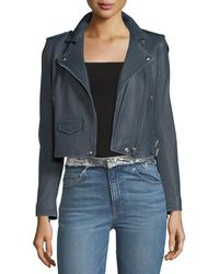 IRO - Ashville Leather Moto Jacket - Lyst