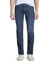 Jacob Cohen - Men's Lightweight Mid-wash Straight-leg Jeans - Lyst
