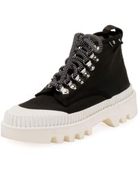 Proenza Schouler - Nylon High-top Platform Sneakers - Lyst