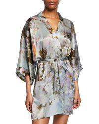 1a8820c15 Pepa Pombo Gaviota Stripe Kimono - Lyst