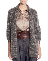 Brunello Cucinelli - Retro Leather Corset Belt - Lyst