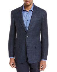 Giorgio Armani - Melange Wool Two-piece Suit - Lyst