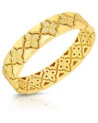 Roberto Coin - 18k Venetian Princess Diamond Bracelet - Lyst