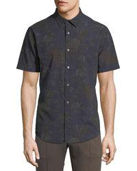 Vince - Men's Pineapple Tropical-print Short-sleeve Sport Shirt - Lyst