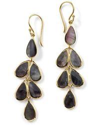 Ippolita - 18k Polished Rock Candy Teardrop Earrings - Lyst