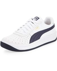 82b4ed0fd72 Lyst - Puma Gv Special Leather Sneakers in White for Men