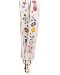Anya Hindmarch - Allover Wink Shoulder Strap For Handbag - Lyst