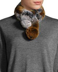 Belle Fare - Rabbit Fur Neck Warmer - Lyst
