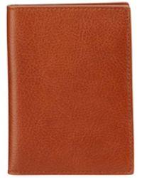 Shinola - Men's Leather Passport Holder - Lyst
