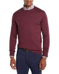Peter Millar - Men's Crown Soft Wool/silk Crewneck Sweater - Lyst
