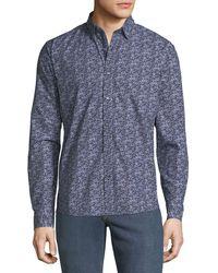 Michael Kors - Men's Coolmax Graphic Slim Sport Shirt - Lyst
