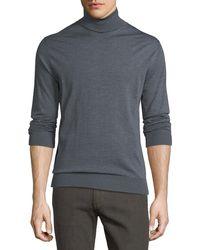 Ermenegildo Zegna - Wool Turtleneck Sweater - Lyst