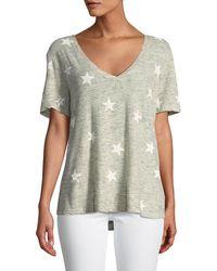 Splendid - Liberty Star Cotton T-shirt - Lyst