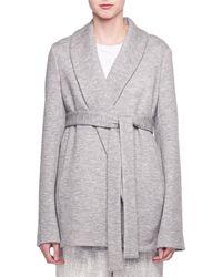 The Row - Bruna Belted Cashmere-blend Jacket - Lyst