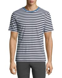 Theory - Men's Classic Bay Striped T-shirt - Lyst