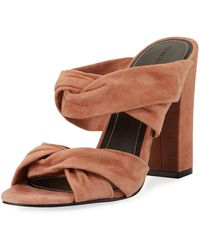 Kendall + Kylie - Demy Knot Mule Sandal - Lyst