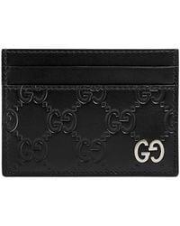 Gucci - Signature Card Case - Lyst