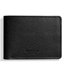 Shinola - Men's Slim Latigo Bifold Leather 2.0 Wallet - Lyst