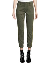 Black Orchid - Noel Cropped Military Jogger Pants - Lyst