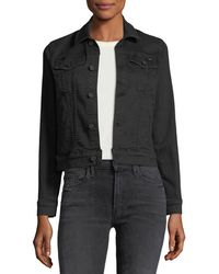 Mother - Pocket Bruiser Button-front Denim Jacket - Lyst
