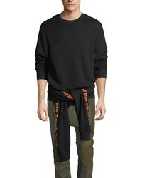 Mostly Heard Rarely Seen - Upside-down Cotton Sweatshirt - Lyst