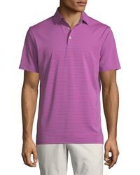 Peter Millar - Men's Competition Stripe Polo Shirt - Lyst