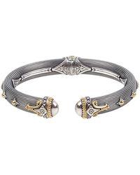 Konstantino - Delos Two-tone Hinged Bracelet, Size M - Lyst