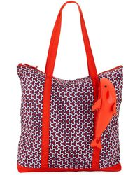 Tory Sport | Packable Orca Printed Tote Bag | Lyst