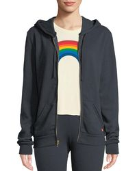 Aviator Nation - Bolt Zip-front Graphic Hoodie - Lyst