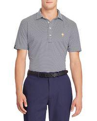 Ralph Lauren - Men's Airflow Striped Polo Shirt - Lyst