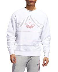 Stussy Outline Hoodie   Gray   Pullover hoodies   118165