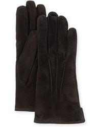Mario Portolano | Suede Gloves | Lyst