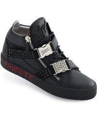 5b46605910f Giuseppe Zanotti - Men s Limited Edition Tribute To Michael Jackson  High-top Sneakers - Lyst