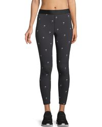 Alala - Base Embroidered Performance Tights - Lyst