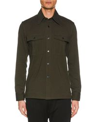 Tom Ford - Men's Button-up Long-sleeve Cotton Jersey Shirt - Lyst
