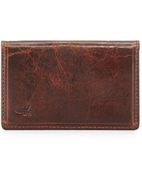 Frye | Logan Small Leather Bi-fold Wallet | Lyst