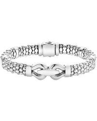 Lagos - Sterling Silver Rope Bit Bracelet, 9mm - Lyst