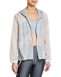 Under Armour - Woven Full-zip Printed Active Jacket - Lyst