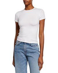 ATM Luxury Finish Pima Cotton Jersey Tee - White