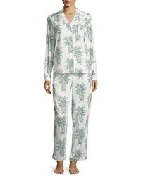 Desmond & Dempsey - Howie Classic Pajama Set - Lyst