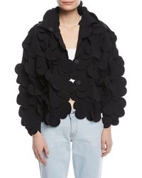 Paskal - 3-d Scalloped Snap-front Jacket - Lyst