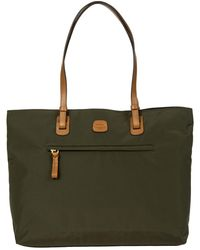 Bric's X-travel Ladies Commuter Tote Bag - Green