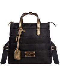 Eric Javits Rules Convertible Nylon Backpack - Black